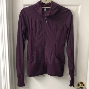 Maroon Lulu Lemon Jacket